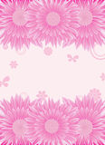 Flowers background,vector Stock Images