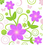 Flowers background vector Stock Photos