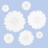 Flowers background (vector) Stock Images