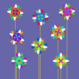 Flowers background. For web and graphic design Stock Image