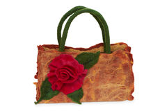 Flowers bag. Stock Photo