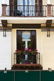 Flowers in a balcony at Andalusia, Spain Royalty Free Stock Image