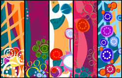 Flowers banners Stock Photo