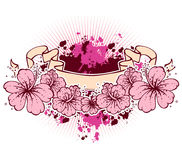 Flowers banners Royalty Free Stock Photo