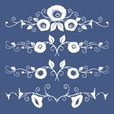 Flowers banners Royalty Free Stock Photography