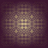 Flowers  baroque background vector Royalty Free Stock Photo