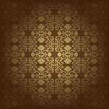 Flowers baroque background vector Royalty Free Stock Image