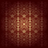 Flowers baroque vector background Royalty Free Stock Photo