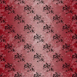 Flowers beautiful pattern grunge effect Stock Photography