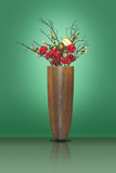 Flowers in a big vase Royalty Free Stock Image