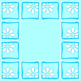 Flowers - Border royalty free stock image
