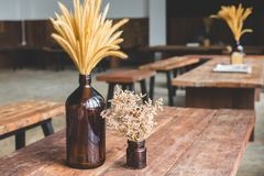 Cafe table Stock Images