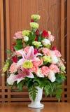 Flowers bouquet Stock Images