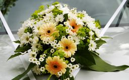 Flowers bouquet stock photo