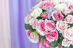 Flowers bouquet arrange for decoration Royalty Free Stock Photos