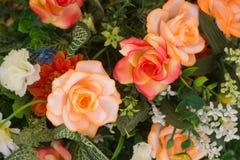 Flowers bouquet arrange for decoration in home. Flowers bouquet arrange for decoration royalty free stock photos
