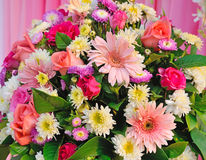 Flowers bouquet arrange for decoration Stock Photos