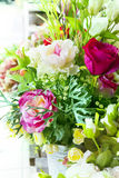 Flowers bouquet arrange for decoration in home Royalty Free Stock Photos