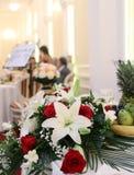 Flowers bouquet arrangement Royalty Free Stock Photo