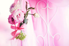 Flowers. Bouquet of beautiful flowers on wedding day Stock Photos