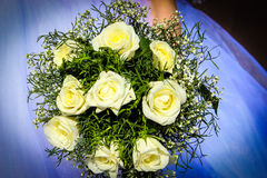 Flowers. Bouquet of the bride. wedding feast Royalty Free Stock Photos