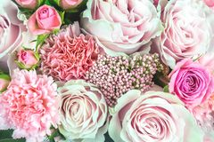 Flowers bouquet closeup. royalty free stock photo