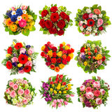 Flowers bouquet Holidays Birthday, Wedding, Valentines Royalty Free Stock Image