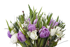 Flowers bouquet isolated Stock Photos
