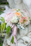 Flowers and bouquet Stock Images