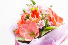 Flowers bouquet Royalty Free Stock Photo