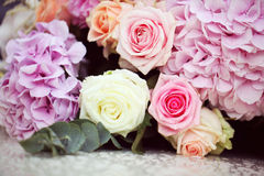 Flowers bouquet Royalty Free Stock Photos