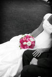 Flowers of the bride Royalty Free Stock Photo