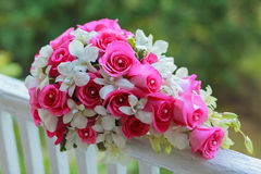 Flowers Bride bouquet bride Stock Photography