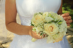 Flowers of the bride Stock Photography