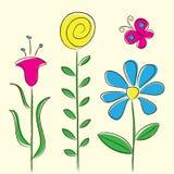 Flowers Card Royalty Free Stock Photos