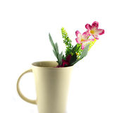 Flowers Ceramic Glass Royalty Free Stock Images