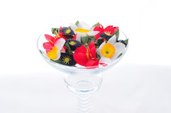 Flowers On A Chalice Stock Photos