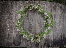 Flowers crown Stock Photo