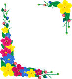 Flowers for decoration frames Stock Image