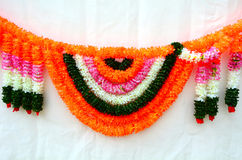 Flowers decoration for Indian festival Stock Photo