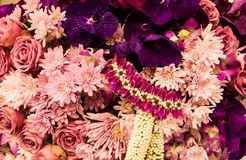 Flowers decoration royalty free stock photo