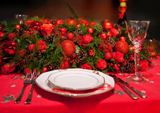 Flowers decoration on table Royalty Free Stock Photo