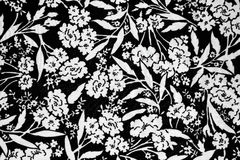 Flowers design fabric royalty free stock photos