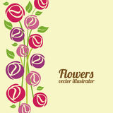 Flowers design Royalty Free Stock Image