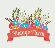 Flowers design. Royalty Free Stock Photography