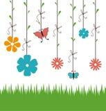 Flowers design. Royalty Free Stock Photos