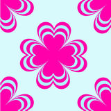 Flowers drawn vector. Bright floral print for shirts. Flower. Spring. Bright colors. Print Clothing Stock Images
