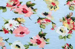 Flowers fabric Royalty Free Stock Photos