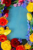 Flowers festive composition Royalty Free Stock Photo