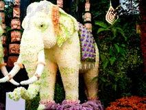 Flowers. Flower arrangement into an elephant Stock Photography